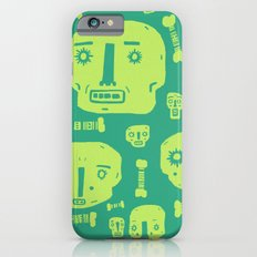 Skulls & Bones I - Green iPhone 6 Slim Case