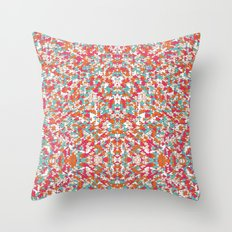 Chaotic Triangle Balance Throw Pillow