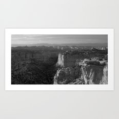 Valley in Utah Art Print