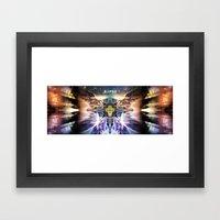 RK-Type Framed Art Print