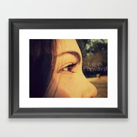 Look Forward Framed Art Print