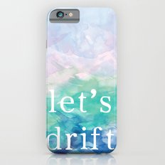 Let's Drift in a Watercolor iPhone 6s Slim Case