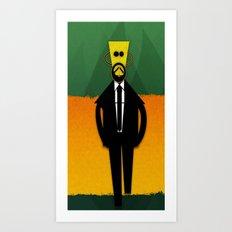 Mr. Personality Art Print