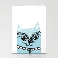 Katze #1 Stationery Cards