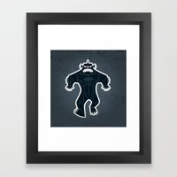 Triclops Framed Art Print