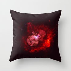 Red Star Division Throw Pillow