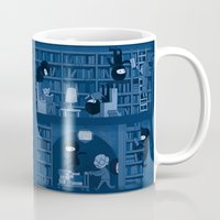 Silence in the Library Mug