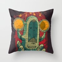 :::Unlikely Hero::: Throw Pillow