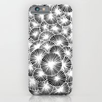 White Pinwheels iPhone 6 Slim Case