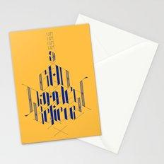 Blank Maps Stationery Cards