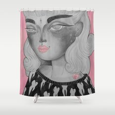 Moony Shower Curtain