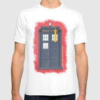 11th Doctor - DOCTOR WHO Mens Fitted Tee White SMALL