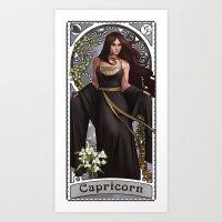 Zodiac Art Show - Capric… Art Print