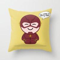 ChibizPop: My Name! Throw Pillow