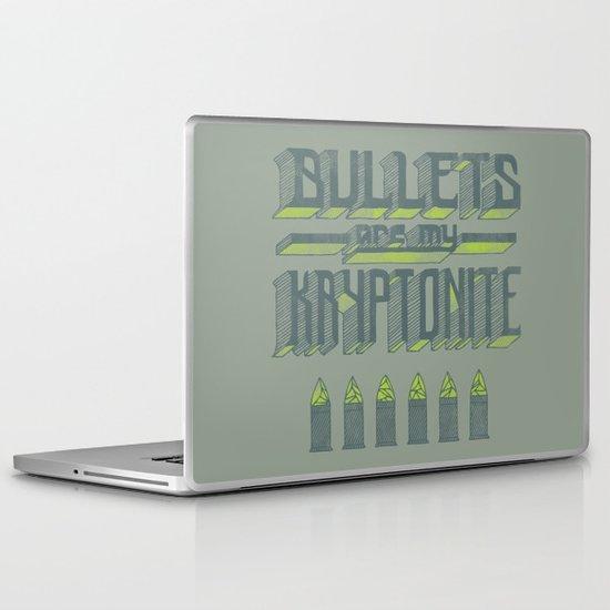 Kryptonite Laptop & iPad Skin