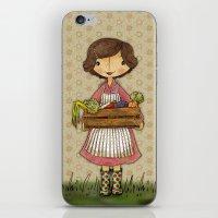 Anna The Farmer iPhone & iPod Skin