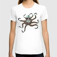 octopus T-shirts featuring octopus by Manoou