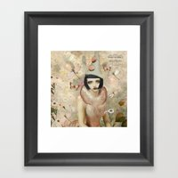 Whimsy My Friend. Framed Art Print