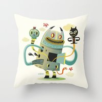 Promenade (without background) Throw Pillow