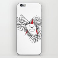 When Sharks Attack iPhone & iPod Skin