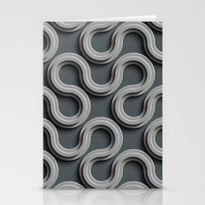 Abstract V-2 Stationery Cards