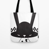 BLACK POND Tote Bag