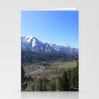 Sonora Pass Stationery Cards