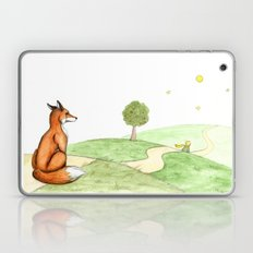 The little Prince and the Fox Laptop & iPad Skin