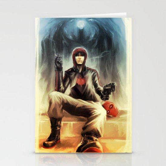 Red Hood - Jason Todd Stationery Card