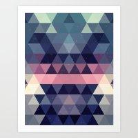 Triangle Space Art Print