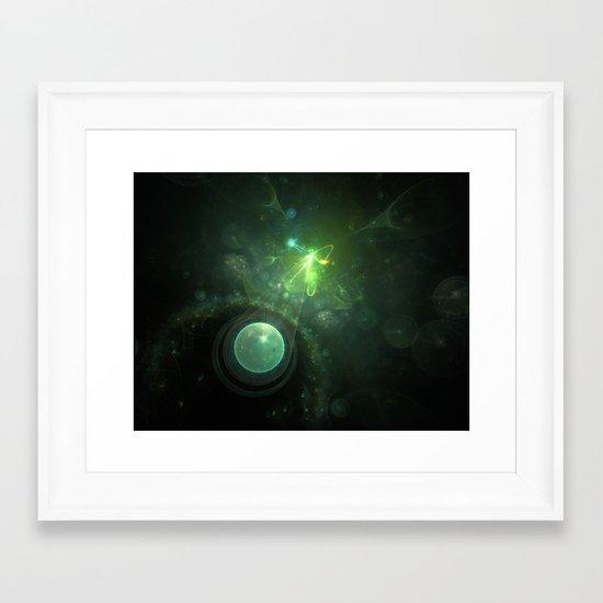 Born of the Stars Framed Art Print
