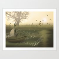 river of music Art Print