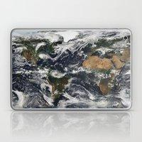 Map of Earth Laptop & iPad Skin