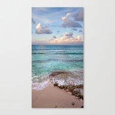 Caribbean sundown Canvas Print