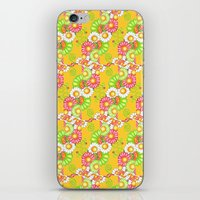 Golden Fields of Daisies iPhone & iPod Skin