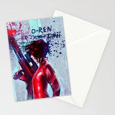O-Ren Ishii Stationery Cards