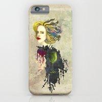 iPhone & iPod Case featuring retro woman by Duygu Kondoglu