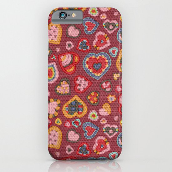I Heart Patterns iPhone & iPod Case