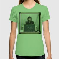 Boss Lady Womens Fitted Tee Grass SMALL