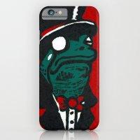 iPhone & iPod Case featuring Duke Croakington by Madison R. Leavelle