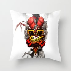 street fighter Throw Pillow