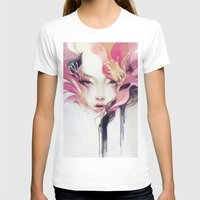 flower T-shirts featuring Bauhinia by Anna Dittmann