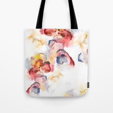 Abstract wWater Colour Tote Bag