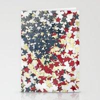 EUA FLAG STARS Stationery Cards