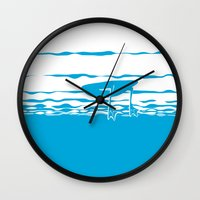 Partly Ducky Wall Clock