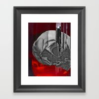 Remains Framed Art Print