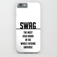SWAG - the most used word in the whole fucking universe iPhone 6 Slim Case