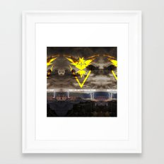 Team Instinct. Framed Art Print