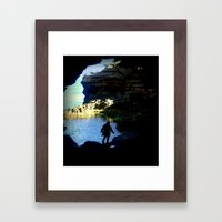 The Mystery Shadow Framed Art Print