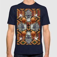 What do you see?.. Mens Fitted Tee Navy SMALL